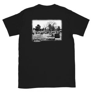 Graveyard t-shirt back