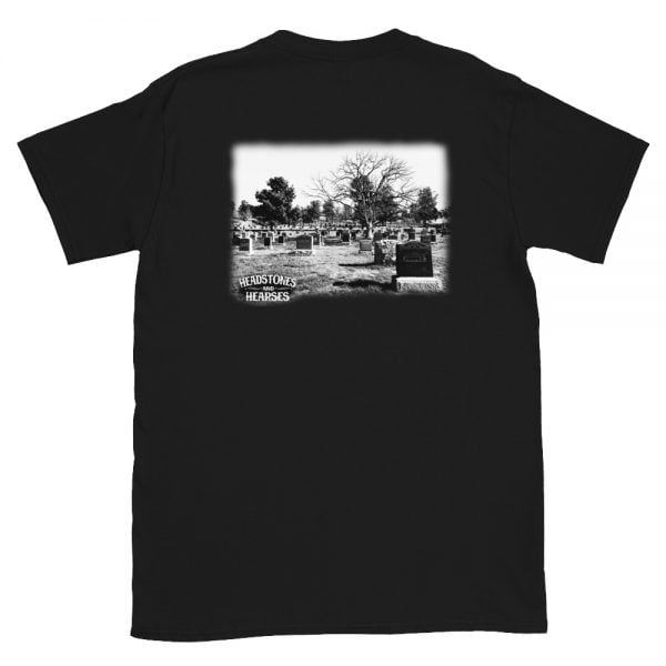 Graveyard t-shirt back