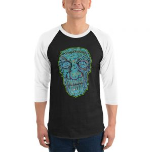 Zombie baseball shirt
