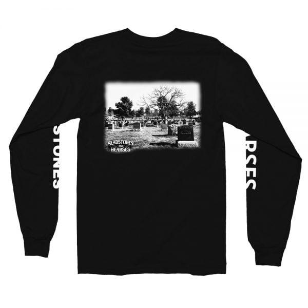 Graveyard long sleeve t-shirt