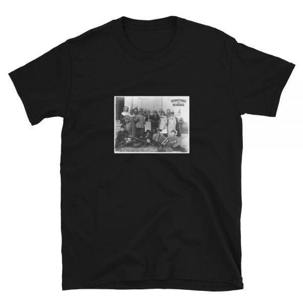 fasching costume party black t-shirt