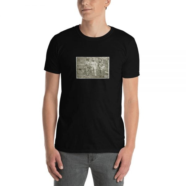 vintage costumes and masks t-shirt