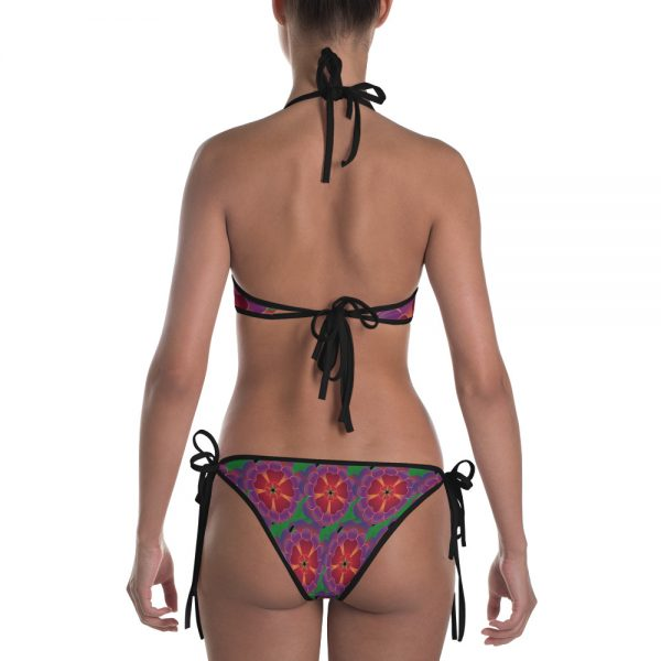 Hawaiian flower bikini
