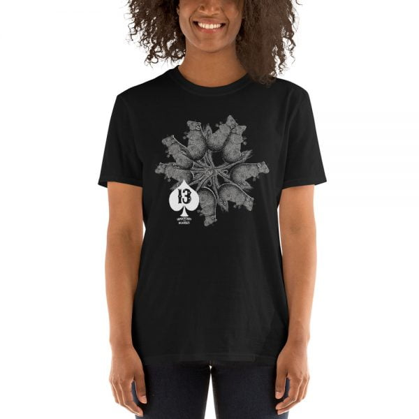 rat king black t-shirt design