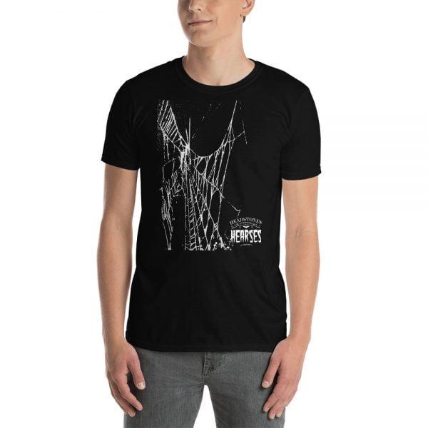 spider web black t-shirt