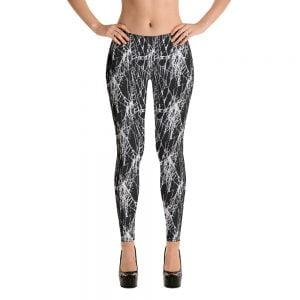 spider web leggings