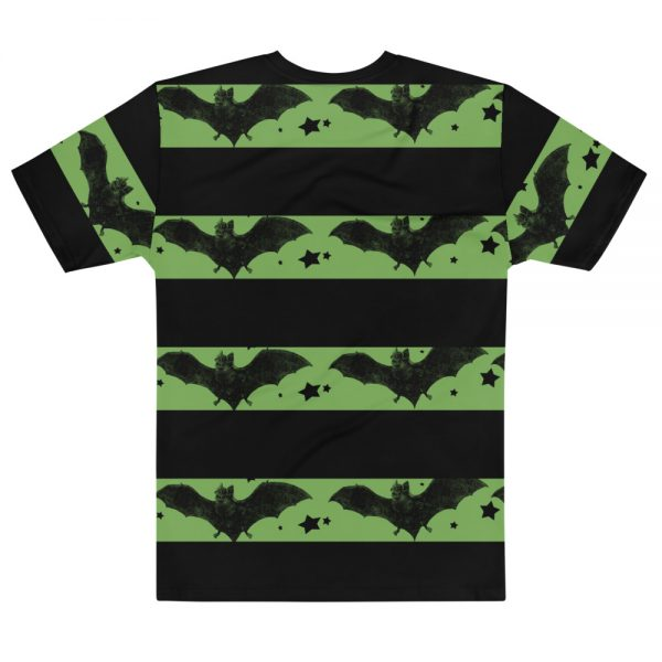 Beatnik Bats striped shirt