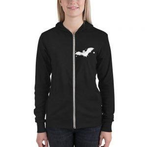 bat zip up hoodie
