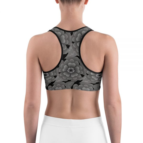 Goth Flower workout top