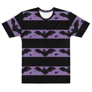 Beatnik Bats striped shirt