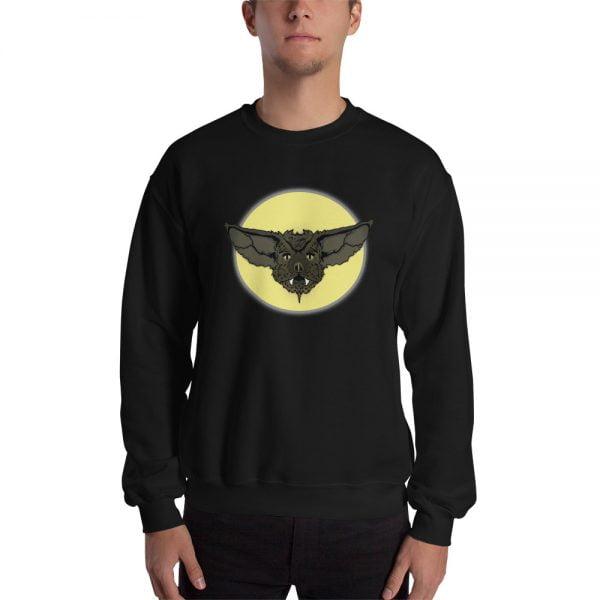 Cartoon Bat Face sweatshirt
