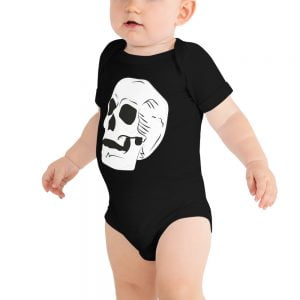 Giant Skull baby one piece jumpsuit