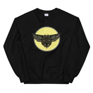 Cartoon Bat Face sweatshirt