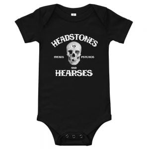 Baby Jumpsuit onesie with Skull