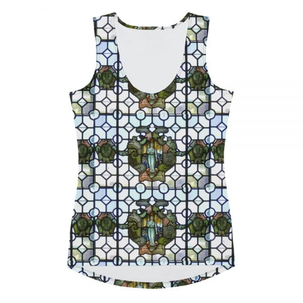 stained glass tank top design