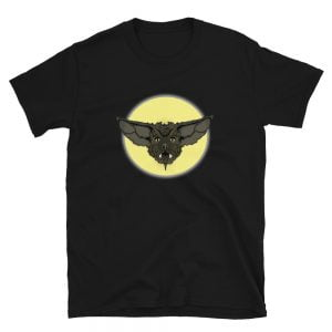 Cartoon Bat Face t-shirt