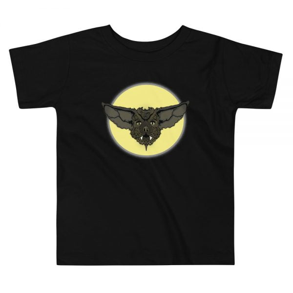 Bat Face toddler t-shirt