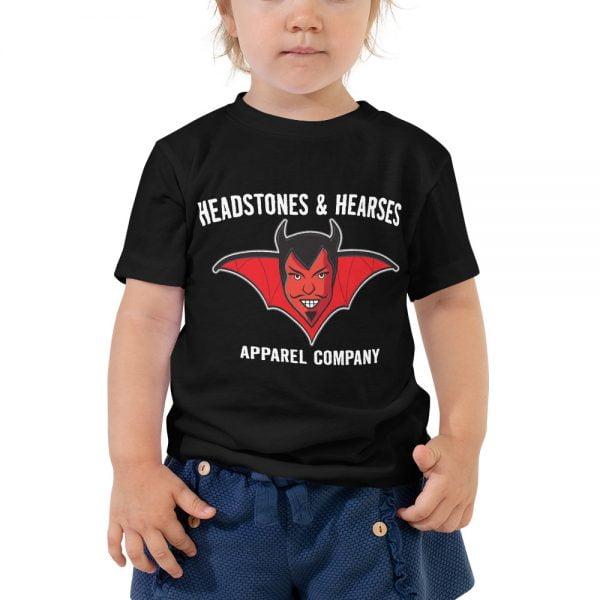 devil face toddler t-shirt