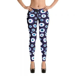 black nazar evil eye leggings