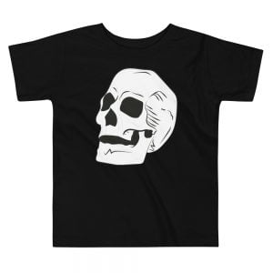 giant skull toddler t-shirt