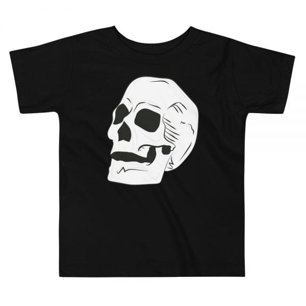 giant skull toddler t-shirt