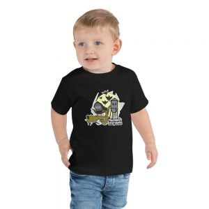 bad wolf toddler t-shirt
