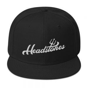 headstones pitchfork black baseball hat