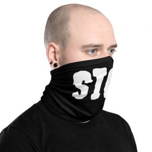 sick black neck gaiter
