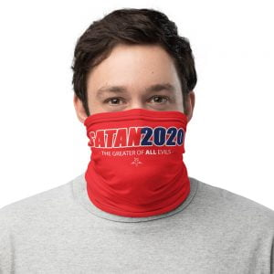 Satan 2020 Neck Gaiter face mask