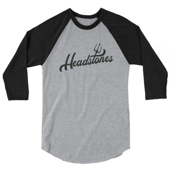 headstones pitchfork baseball t-shirt