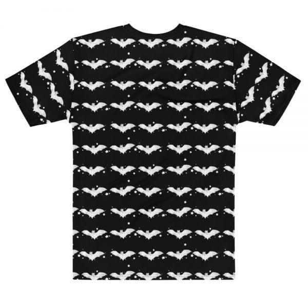 Graveyard Nymph and Bats all over print t-shirt