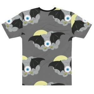 Flying Eyeball Bat all over print t-shirt