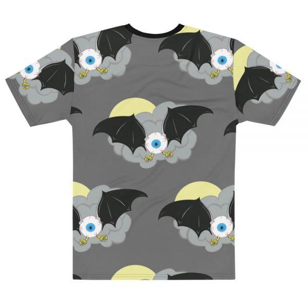 Flying Eyeball Bat all over print t-shirt