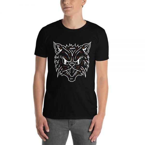 Black Cat Face t-shirt