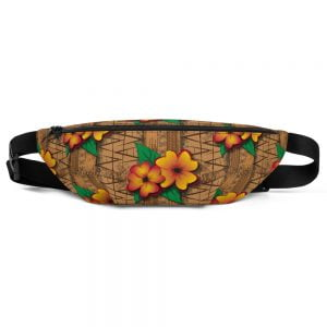 tiki style fanny pack