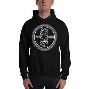 Head Stone Tiki hooded sweatshirt black hoodie