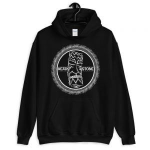 Head Stone Tiki hooded sweatshirt black hoodie
