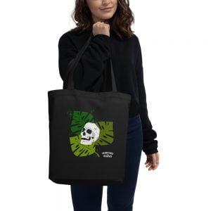 Monstrosa Skull Record and Tote Bag