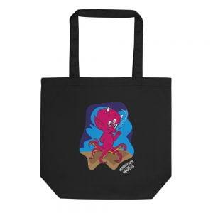 Octo Devil Baby record tote bag